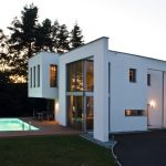 neues Einfamilienhaus mit Styropor-Dämmung